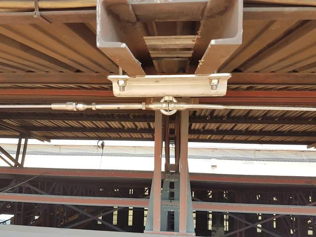 Installazione linee vita industriali 13