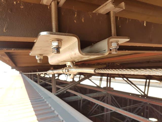 Installazione linee vita industriali 11