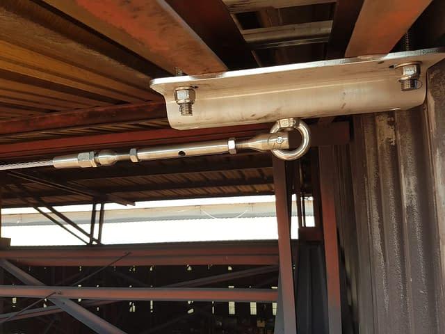 Installazione linee vita industriali 12